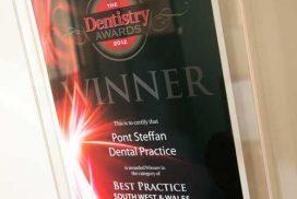 Pont Steffan Award Plaque