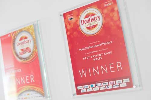 Pont Steffan Award Certificates