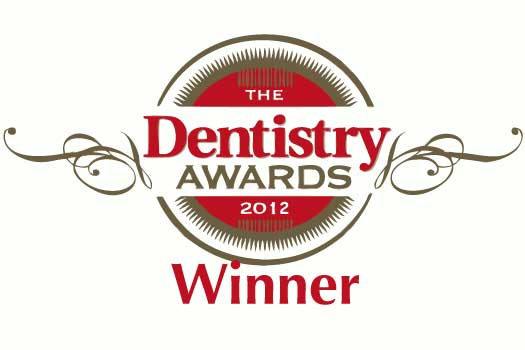 The Dentistry Awards Winners Logo 2012