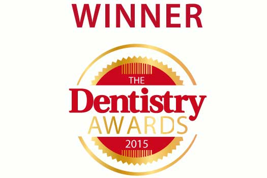The Dentistry Awards Winners Logo 2015