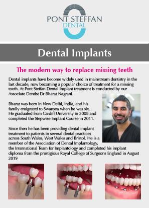 Dental Implant Leaflet Thumbnail