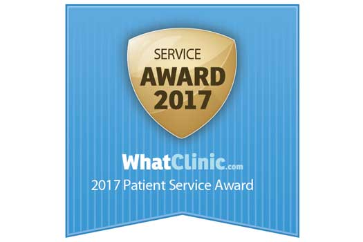 WhatClinic 2017 Patient Service Award
